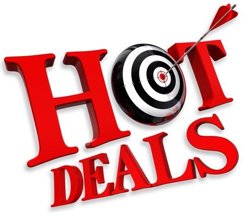 hot deals red logo