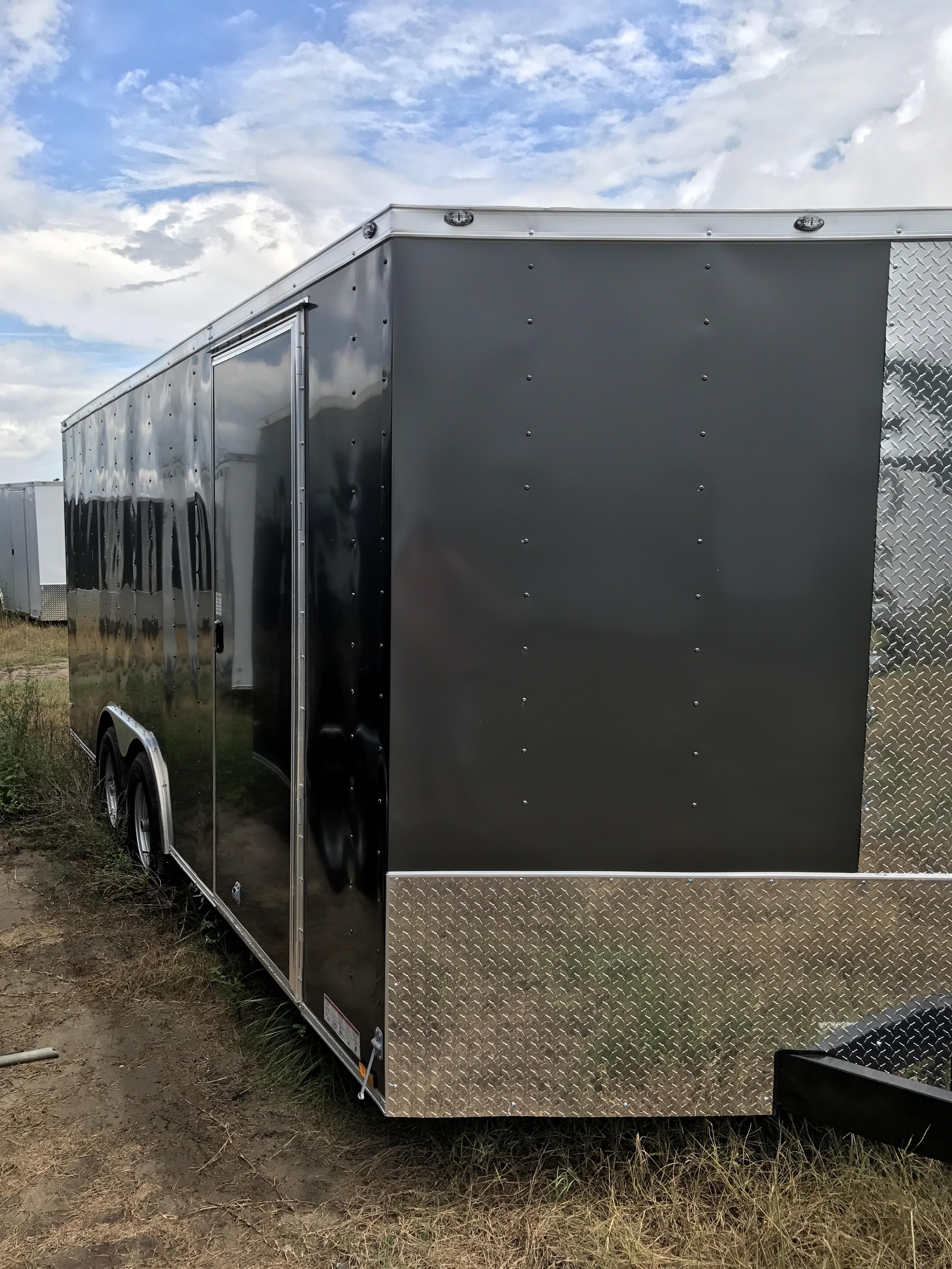 Charcoal 8.5 X 16 Door Side