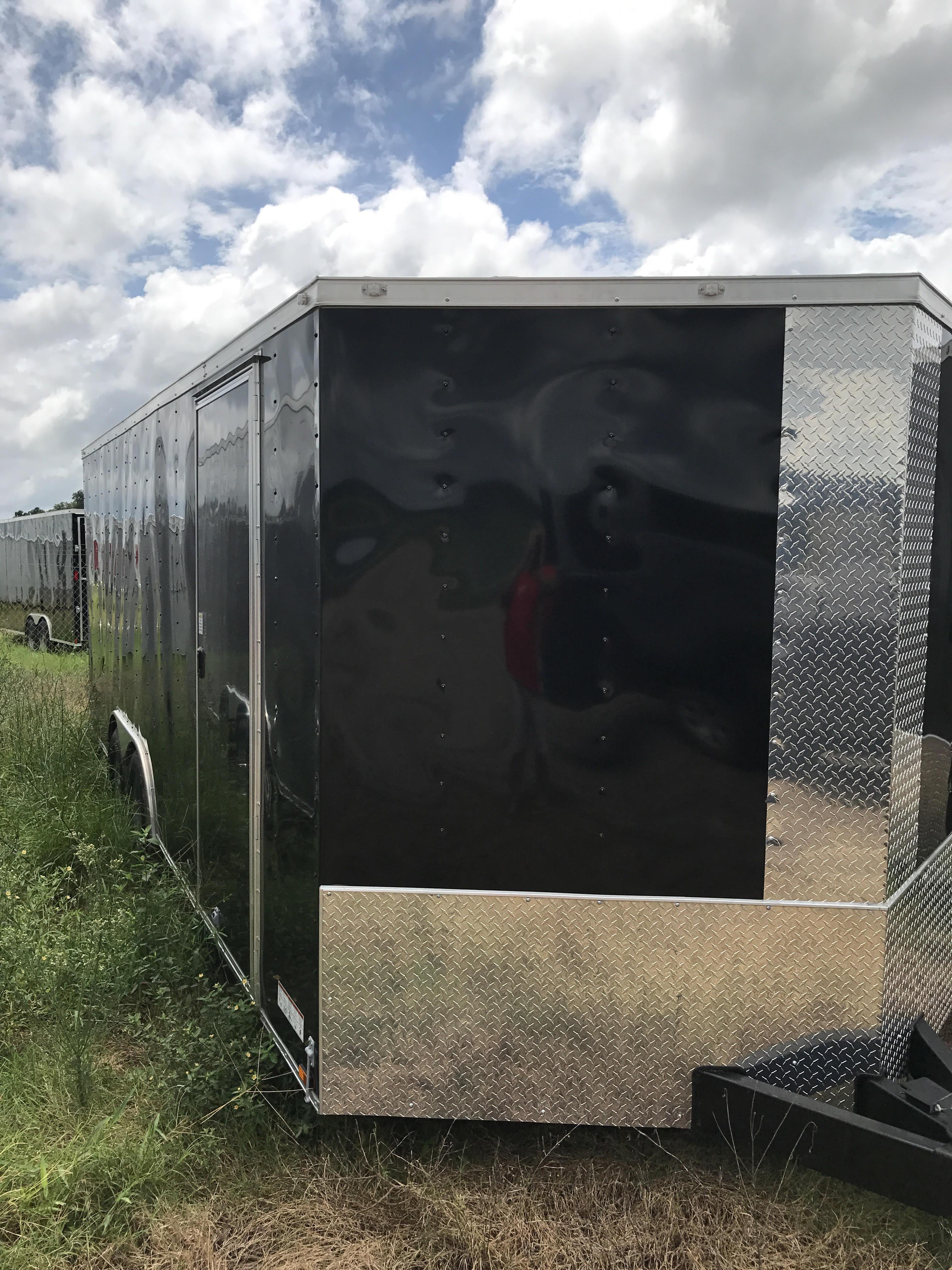 Black 8.5 X 20 Door Side 2