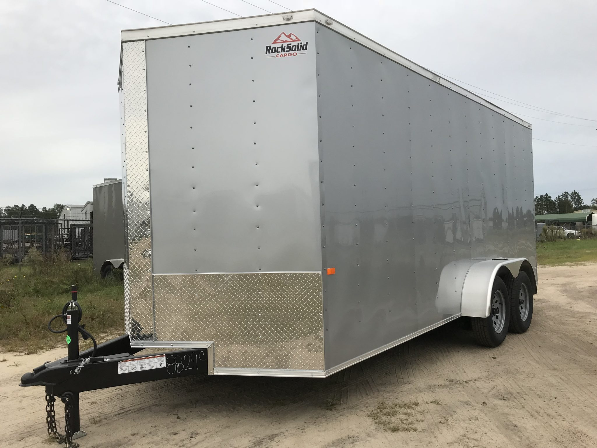 rock solid cargo trailers 7'